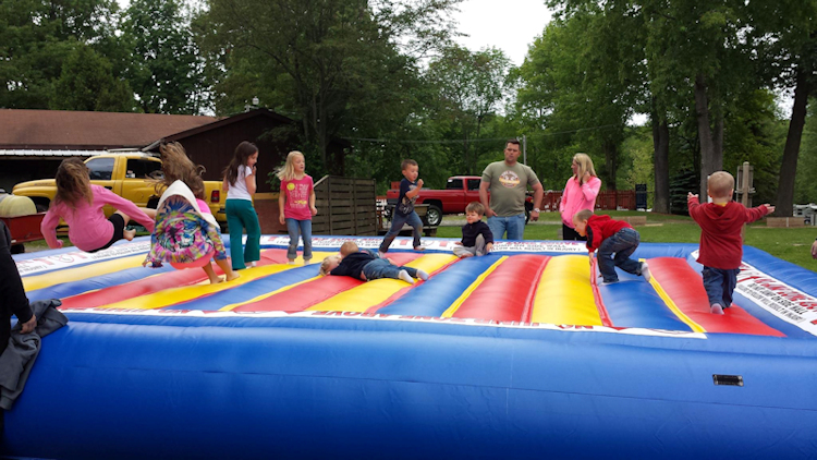 Jumping Pad for our little campers! - Click on the photo to see a larger version